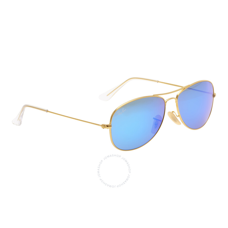 Ray-Ban Cockpit Blue 56 mm Sunglasses RB3362 112 17 56 - Aviator ... 80e336ccf