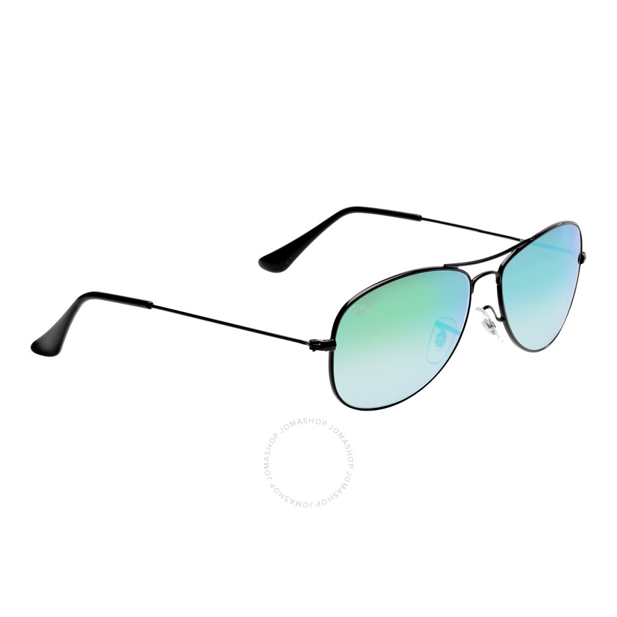 ray ban cockpit green gradient mirrored men 39 s sunglasses. Black Bedroom Furniture Sets. Home Design Ideas