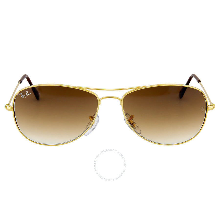 Ray-Ban Cockpit Brown Gradient Lens Sunglasses RB3362 001 ...