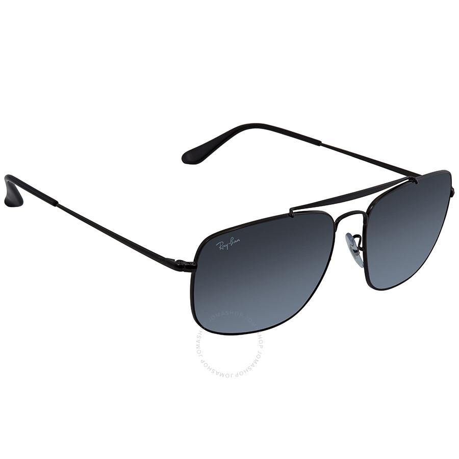 7c179a0285 Ray Ban Colonel Grey Gradient Square Sunglasses RB3560 002 71 61 ...