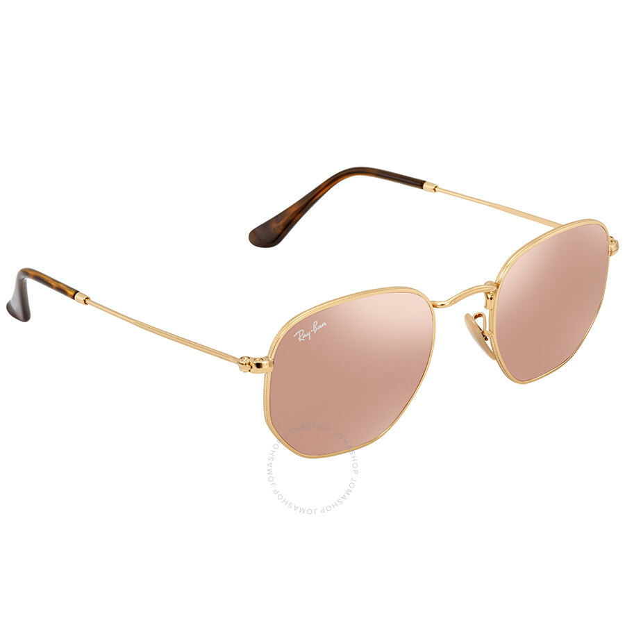 851d2f391ab6b ... discount code for ray ban copper flash round mens sunglasses rb3548n  001 z2 48 63b16 8083c