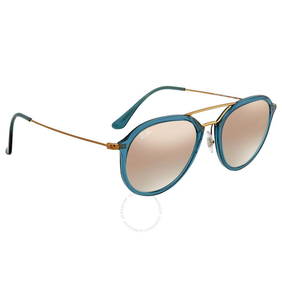 d07ec905c75db ... Ray Ban Copper Gradient Flash Aviator Sunglasses RB4253 62367Y 53 ...
