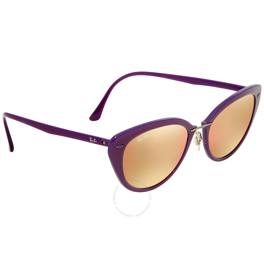 403e316aa5 Ray Ban Copper Mirror Cat Eye Sunglasses RB4250 60342Y 52 - Ray-Ban ...