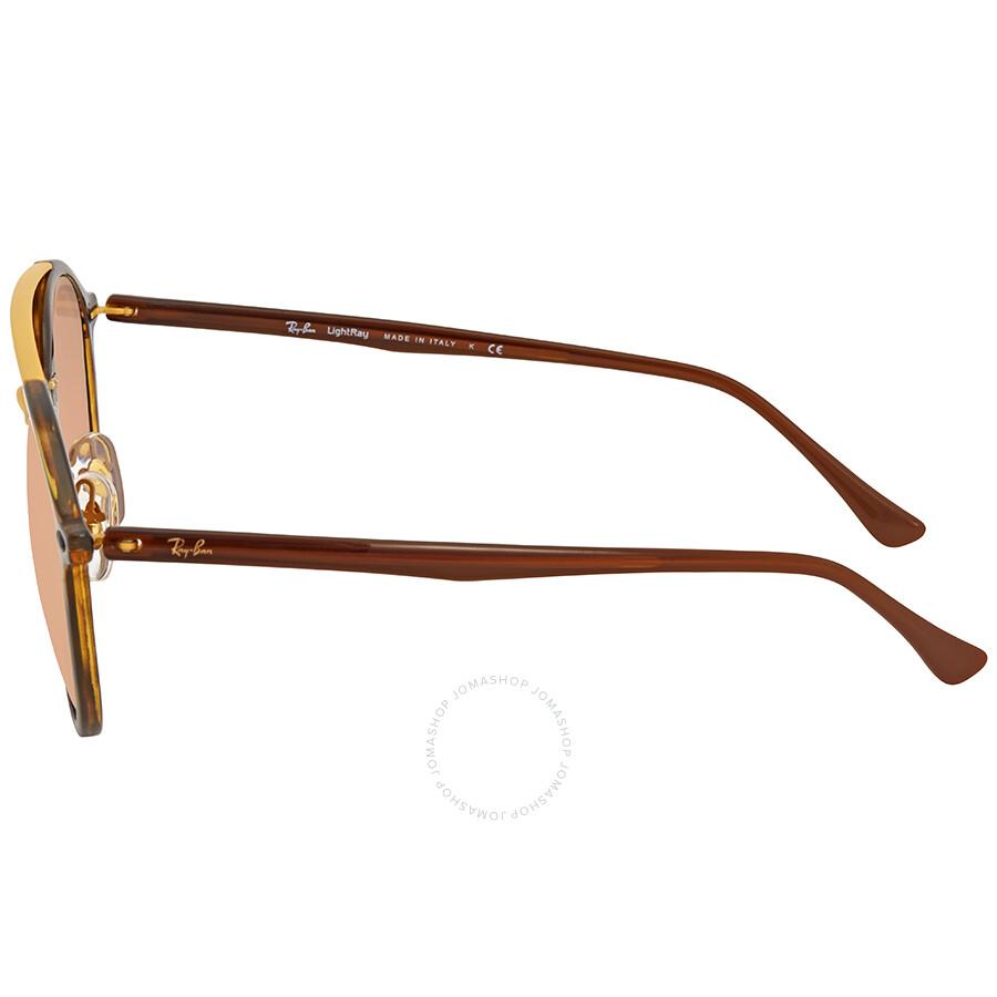 43f32bdae0e Ray Ban Copper Mirror Round Sunglasses RB4266 710 2Y 49 - Round ...