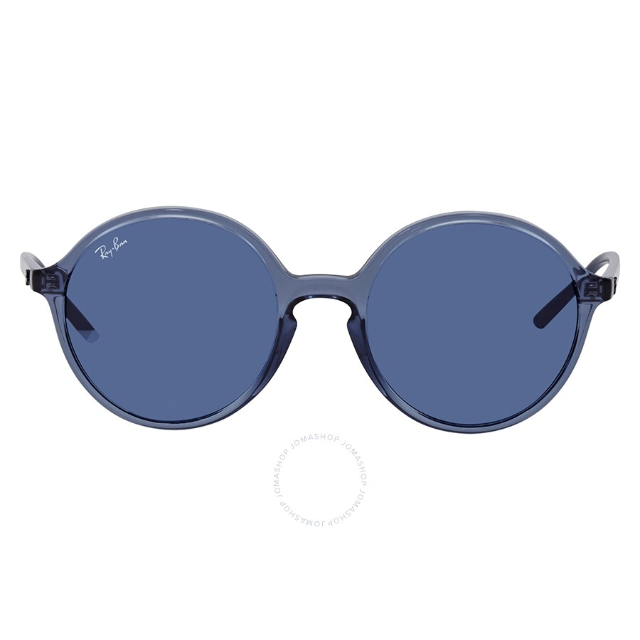 62dd957fb Ray Ban Dark Blue Classic Round Sunglasses RB4304 63998053 - Round ...