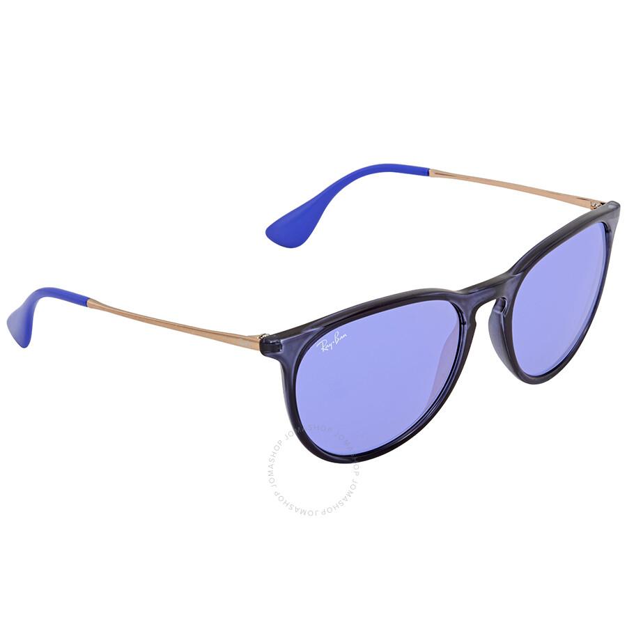 Sunglasses Violet Rb4171 6338d1 Ban Dark Mirror Ray Round 54 4RjLA35q