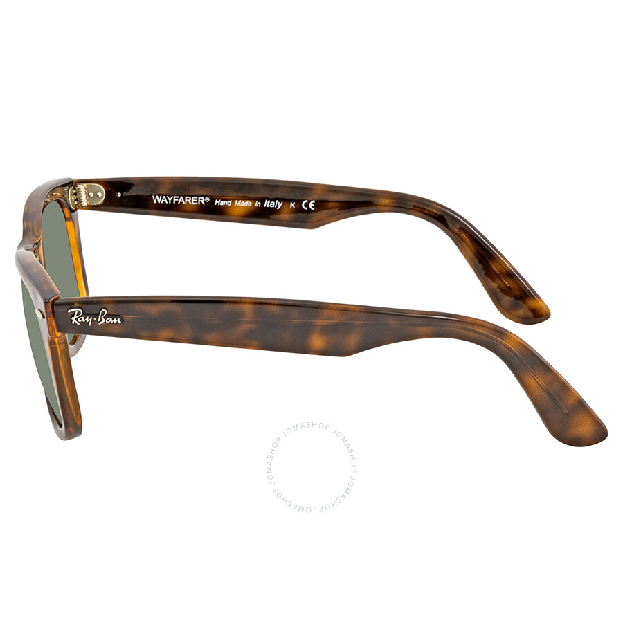 77674a2ddf Ray Ban Ease Green Wayfarer Sunglasses RB434071050 - Ray-Ban ...