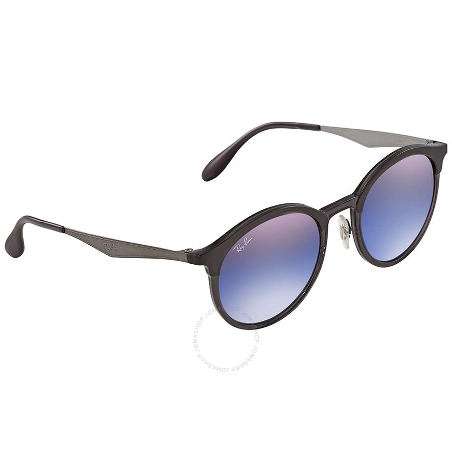 fea5399406aa9 Ray Ban Emma Blue Violet Gradient Mirror Sunglasses RB4277 6324B1 51 ...