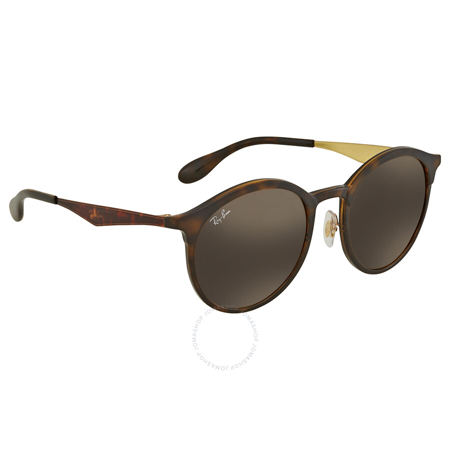 eec3179096c Ray Ban Emma Brown Classic B-15 Round Sunglasses RB4277 628373 51 ...