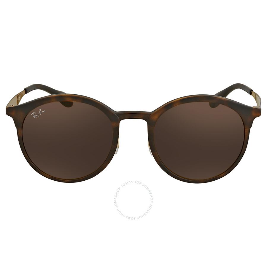 7b7f4f344a9 ... Ray Ban Emma Brown Classic B-15 Round Sunglasses RB4277 628373 51 ...