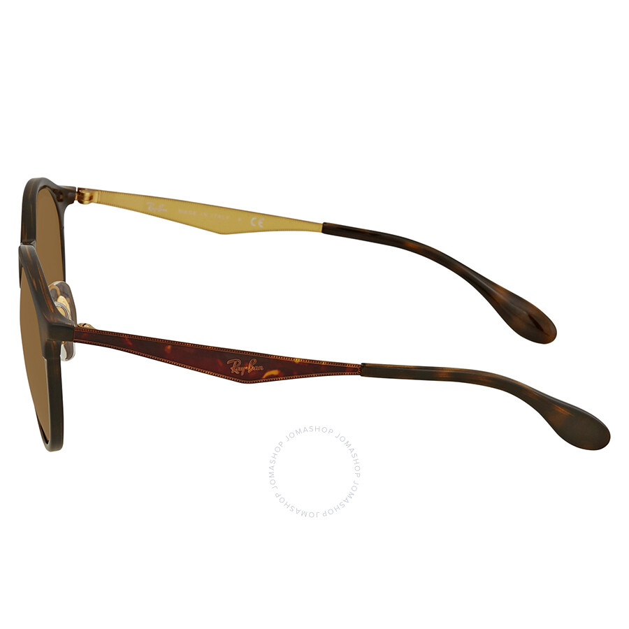 Ray Ban Emma Brown Classic B-15 Round Sunglasses RB4277 628373 51 ... 8c41f7201fcc