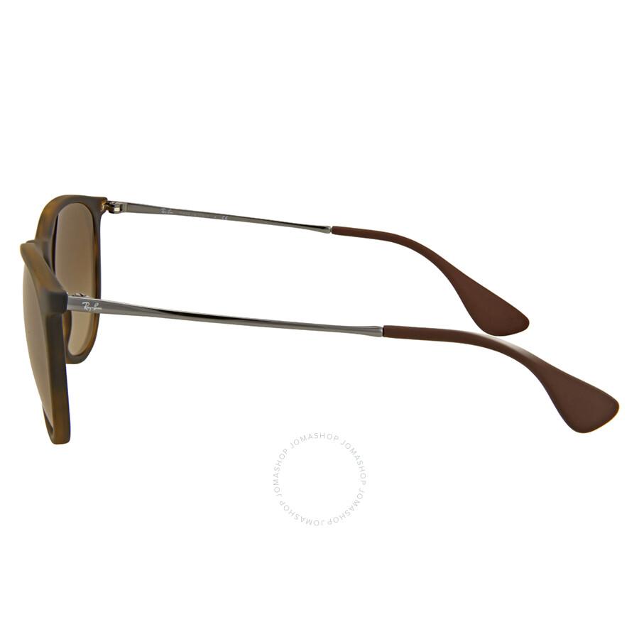 13d1f0c4aa8 Ray-Ban Erika Brown Gradient Sunglasses RB4171 865 13 54 - Erika ...