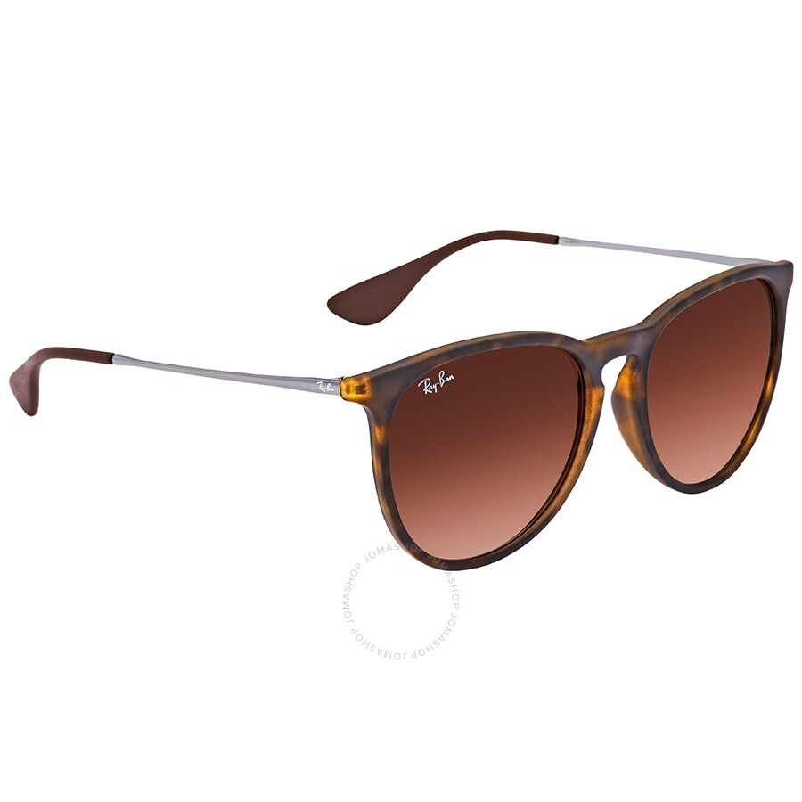 029c3927fa Ray Ban Erika Classic Brown Gradient Aviator Ladies Sunglasses RB4171F  865 13 57 ...