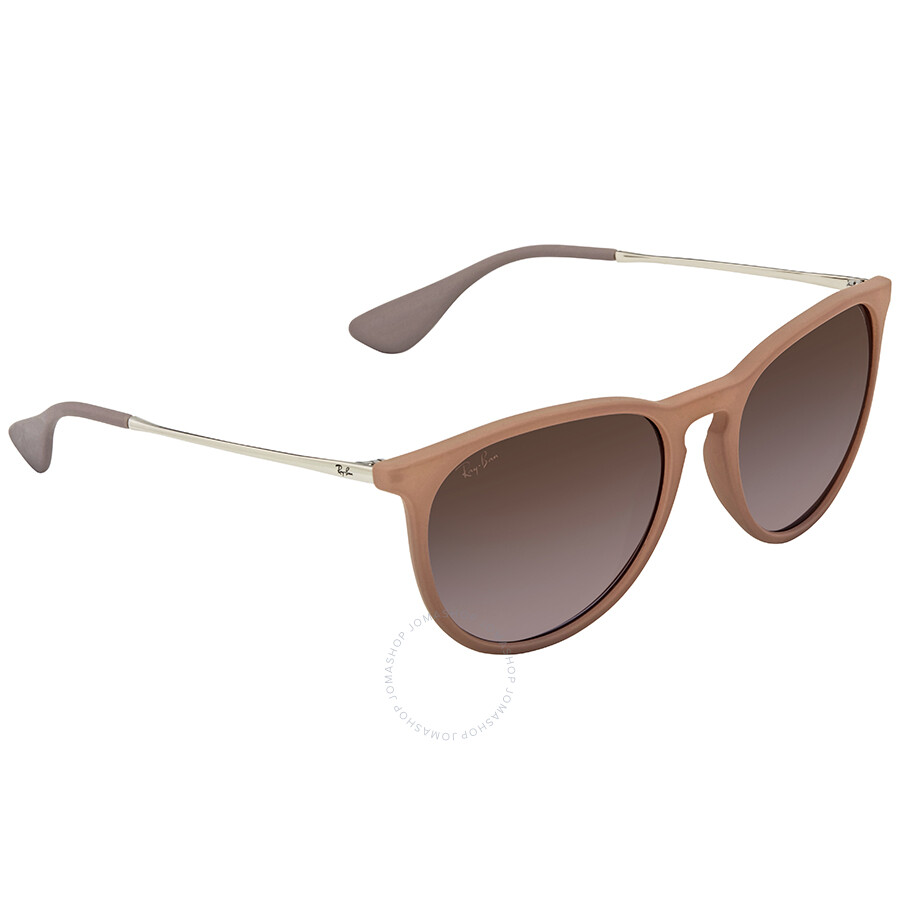 fe5e48f125 Ray Ban Erika Classic Brown Violet Gradient Sunglasses RB4171 600068 54 ...
