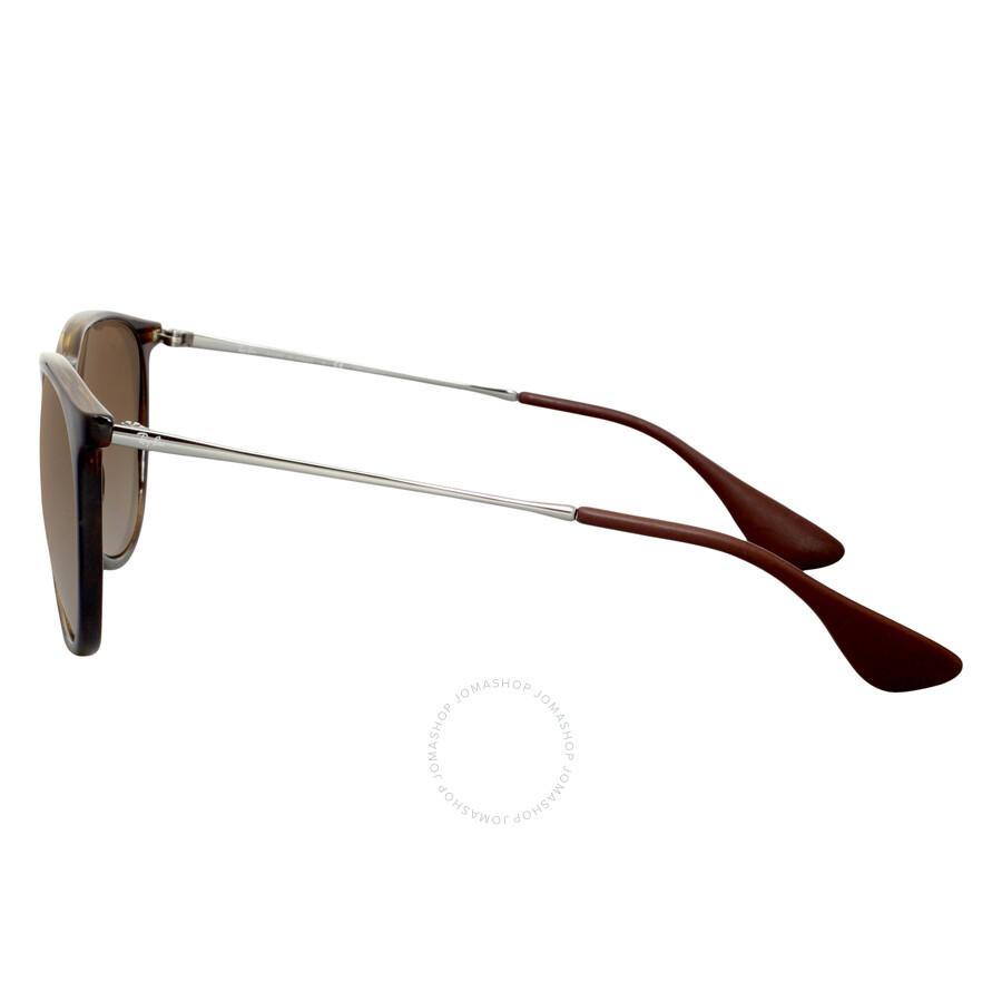 519d6d86e4d16 ... Ray-Ban Erika Classic Polarized Brown Gradient Sunglasses RB4171710 T554