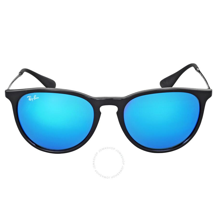 Ray-Ban Erika Color Mix Blur Mirror Lens Sunglasses RB4171 ...