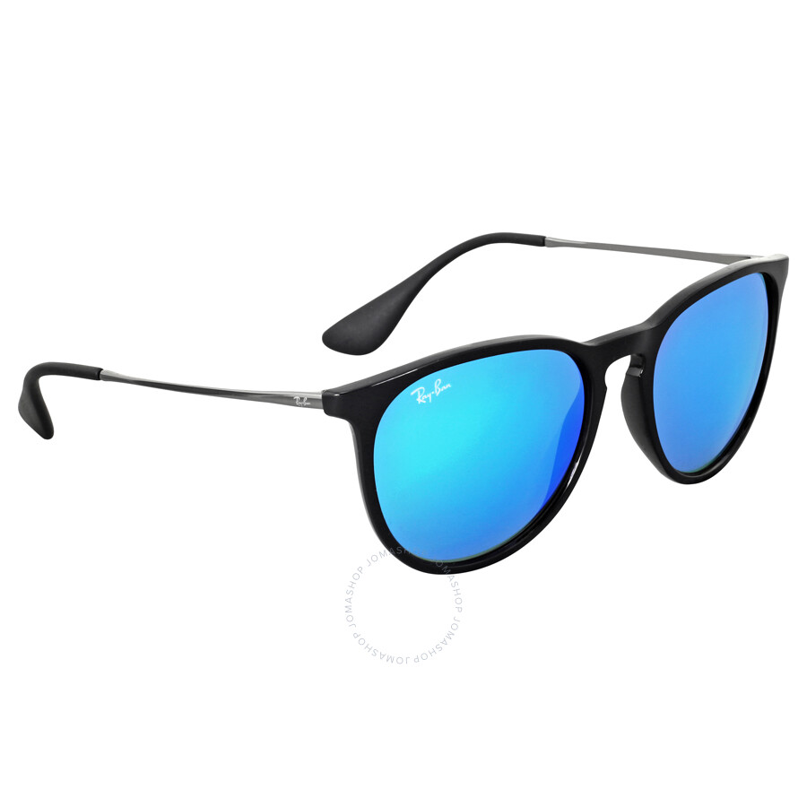 7bafc15f89 ... Ray-Ban Erika Color Mix Blur Mirror Lens Sunglasses RB4171 601 55 54 ...