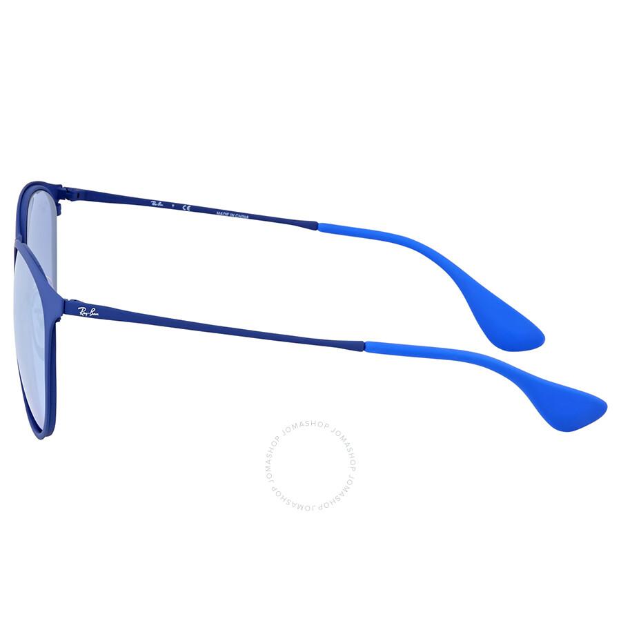 f39d308bb0f56 Ray Ban Erika Grey Mirror Metal Sunglasses - Ray-Ban - Sunglasses ...