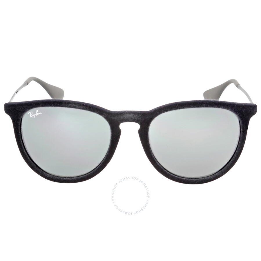 rb4171 qrwl  Ray Ban Erika Grey Mirror Sunglasses RB4171 60756G 54