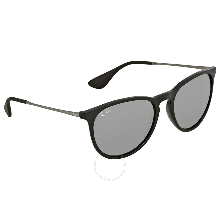 496d4816bf Ray Ban Erika Grey Round Sunglasses RB4171 601 6G 54 - Erika - Ray ...