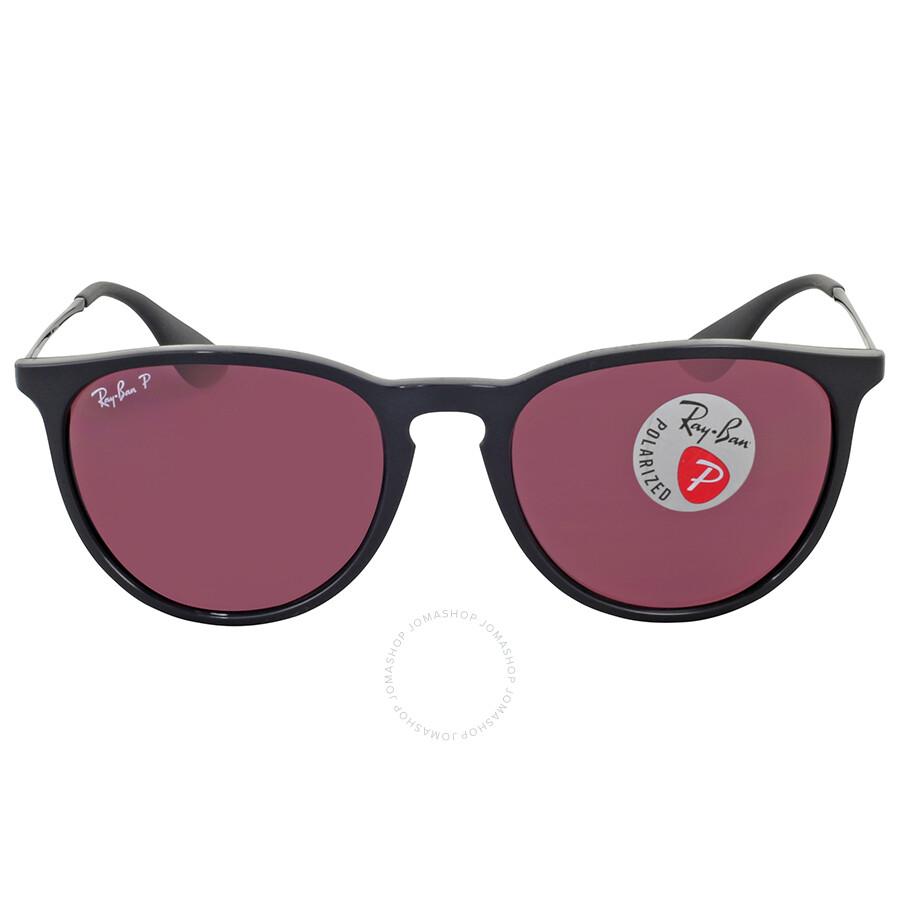 3c357c8e54 Ray Ban Erika Polarized Violet Mirror Sunglasses Item No. RB4171 601 5Q 54