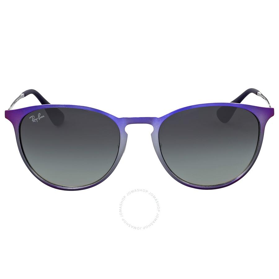 0f8c8403a7 Ray-Ban Erika Violet Frame Grey Gradient Sunglasses - Erika - Ray ...