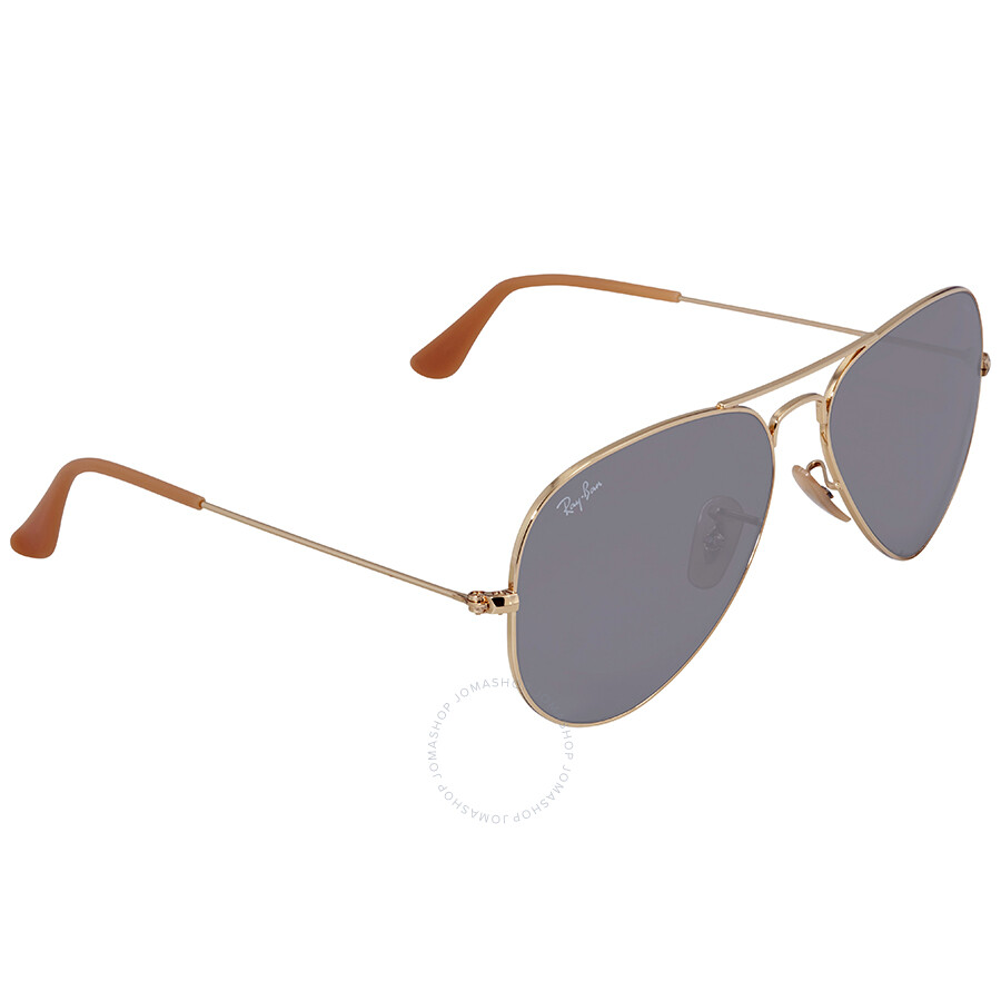 31b87075ca8 Ray Ban Evolve Grey Photocromic Aviator Sunglasses RB3025 9064V8 58 ...