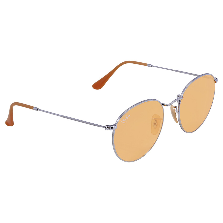 703413ee402 Ray Ban Evolve Round Sunglasses RB3447 9065V9 53 - Round - Ray-Ban ...
