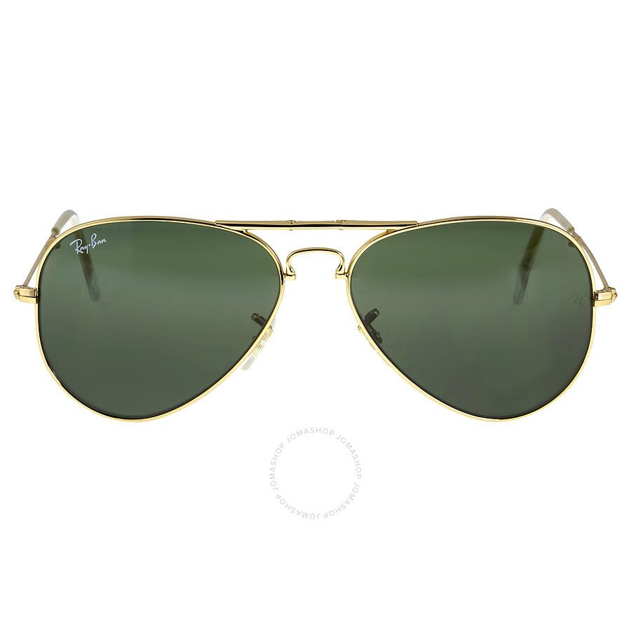 de1d1292fa Ray-Ban Folding Aviator Green Glassic G-15 58 mm Men s Sunglasses RB3479-  ...