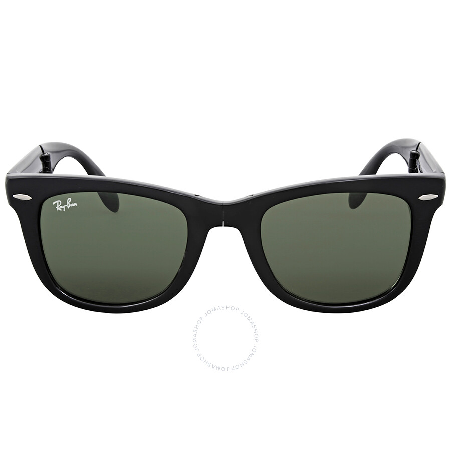 b8296af1dec61 Ray Ban Folding Wayfarer Black Square Sunglasses Item No. RB4105 601 50-22