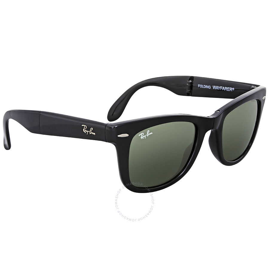 a2233b339968a Ray Ban Folding Wayfarer Black Square Sunglasses - Ray-Ban ...