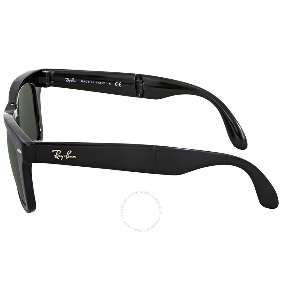 99159f91d65b1 Ray Ban Folding Wayfarer Black Square Sunglasses - Ray-Ban ...