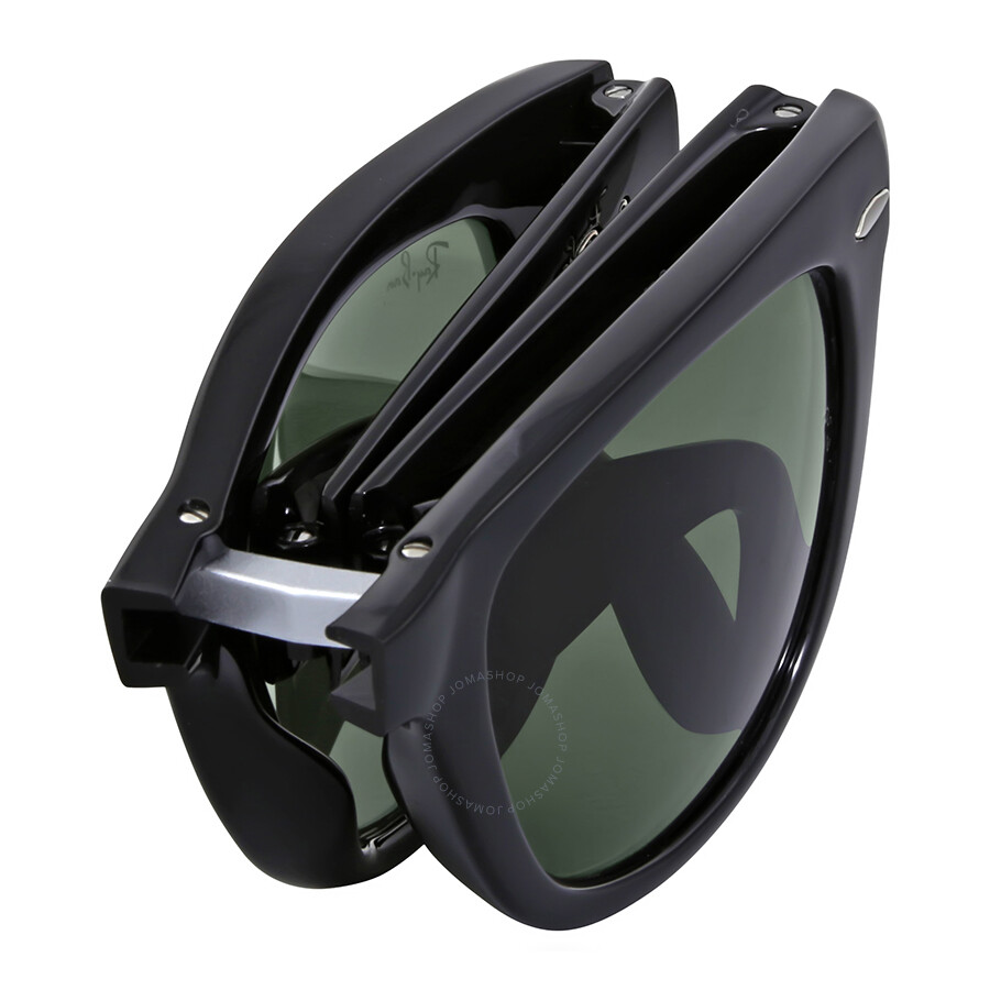 5178cb46df Ray Ban Folding Wayfarer Black Square Sunglasses - Ray-Ban ...