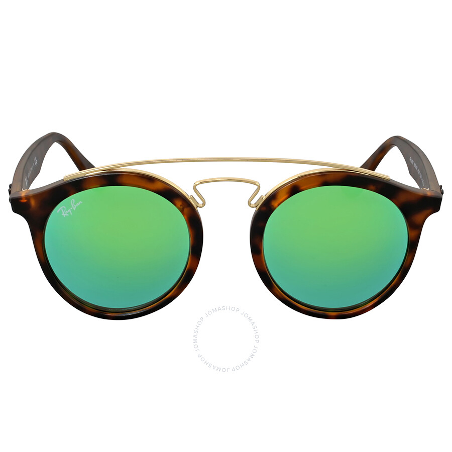 bfeef5526d Ray-Ban Gatsby Green Mirror 46 mm Sunglasses - Gatsby - Ray-Ban ...