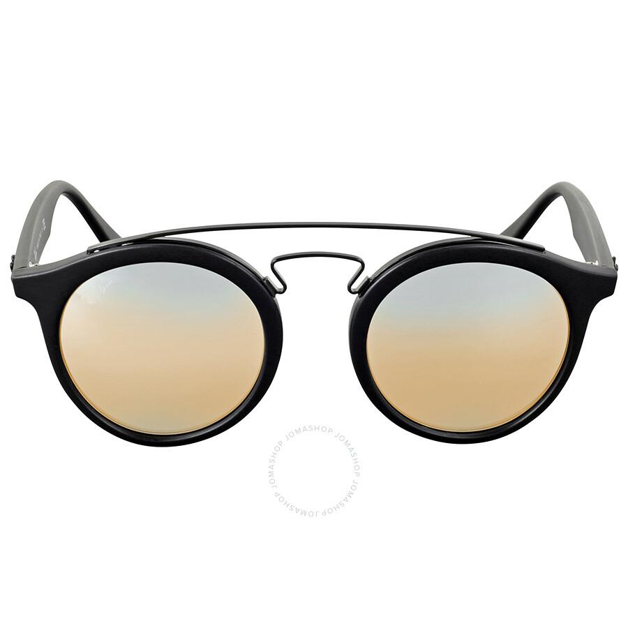 d6e3ddc11a Ray Ban Gatsby I Silver Gradient Flash Sunglasses Item No. RB4256 6253B8 46