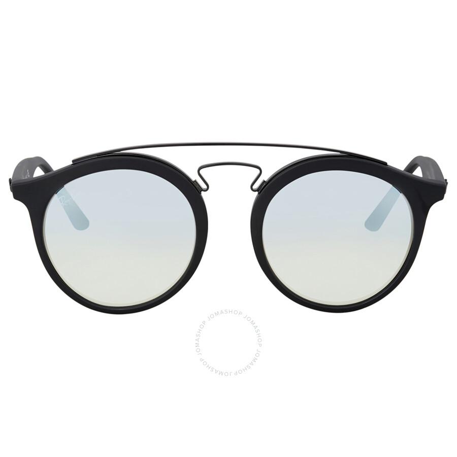 76cfda05bd Ray Ban Gatsby I Silver Gradient Flash Sunglasses Item No. RB4256 6253B8 49
