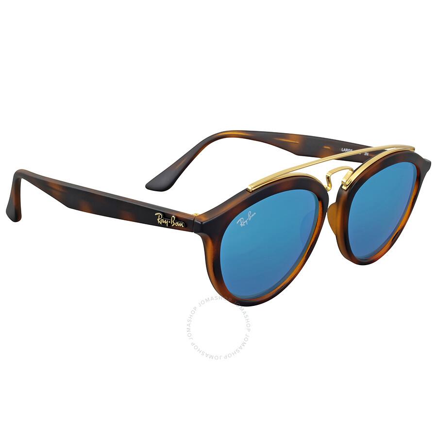 Blue mirror sunglasses ray ban for Mirror sunglasses