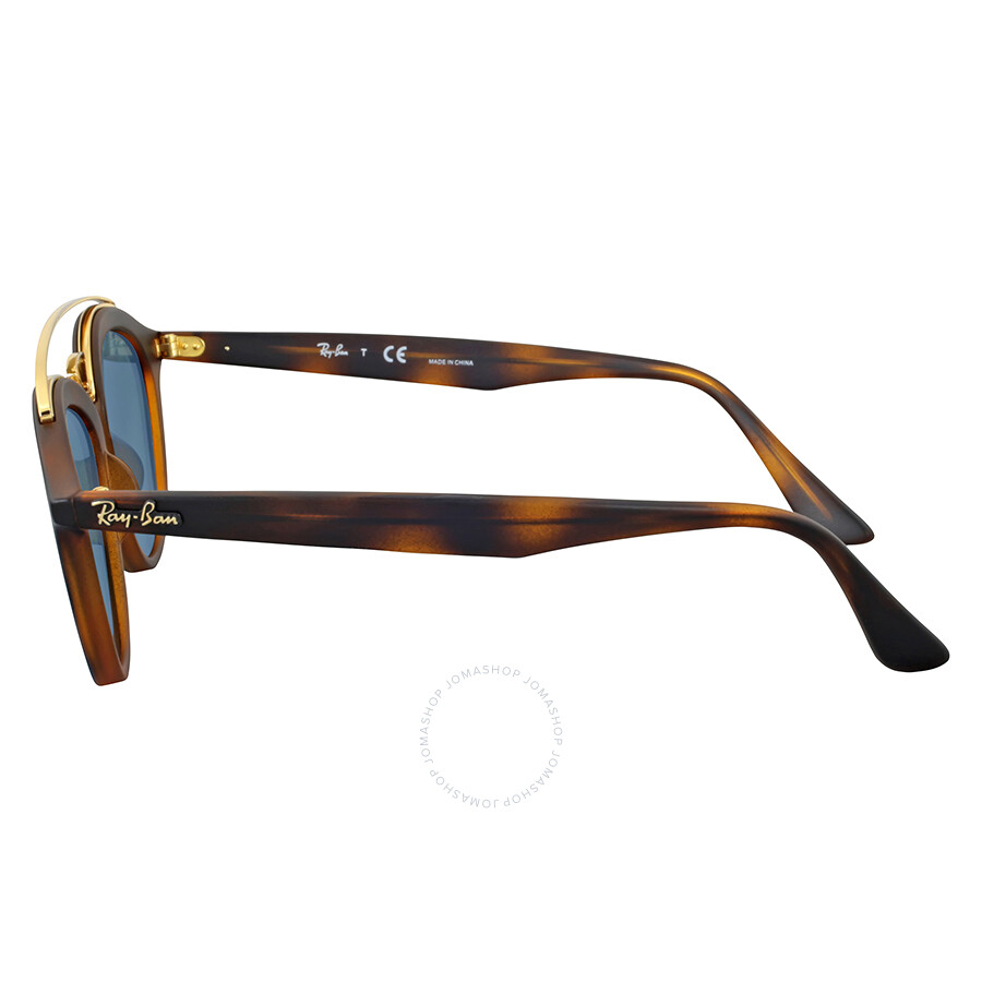 0d91e6c0e8 Ray Ban Gatsby II Blue Mirror Round Sunglasses - Round - Ray-Ban ...