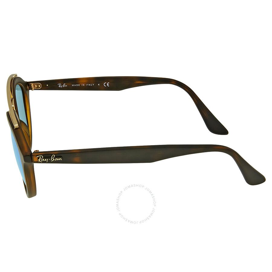 4e5b952500 Ray-Ban Gatsby II Blue Mirror Sunglasses - Gatsby - Ray-Ban ...