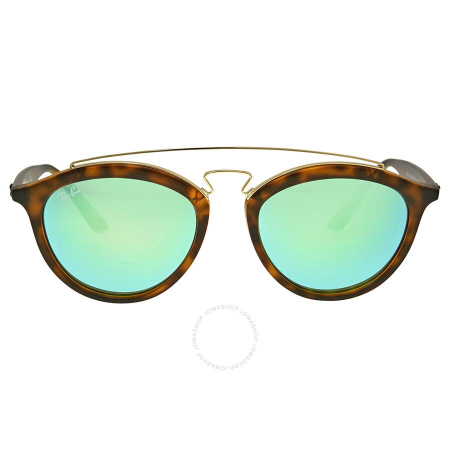 Ray ban gatsby ii green mirror sunglasses gatsby ray for Mirror sunglasses