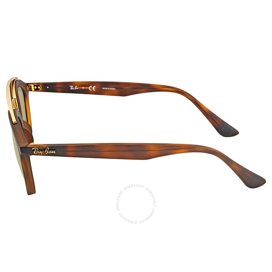 e1387a0fbc Ray Ban Gatsby II Round Gold Mirror Sunglasses - Gatsby - Ray-Ban ...