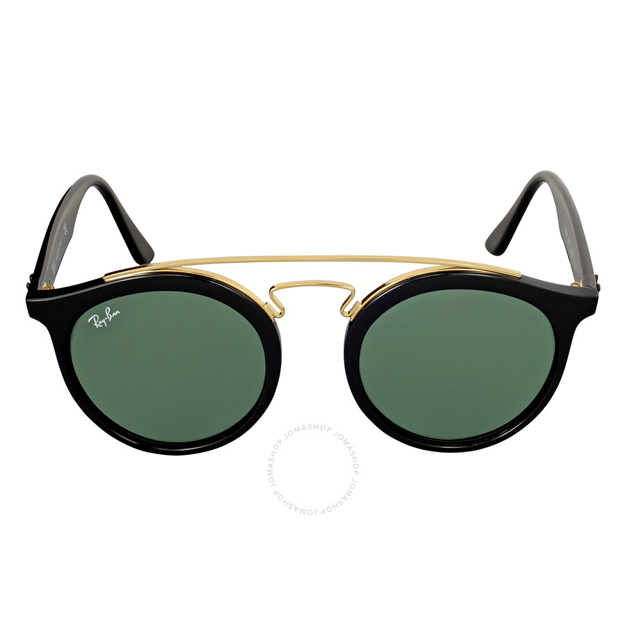 1b02bb01e2 Ray-Ban Gatsby Round Green Classic Sunglasses RB4256 601 71 49 ...