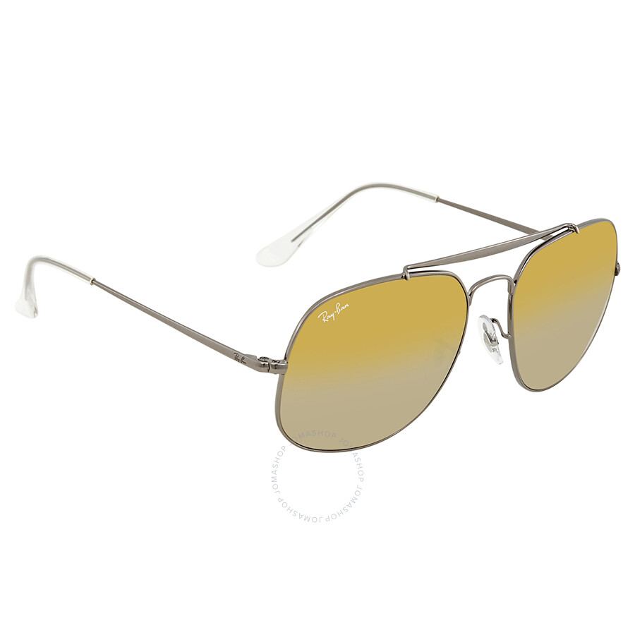 Ray Ban General Brown Gradient Mirror Sunglasses RB3561 004 I3 57 ... 18ee1900c3