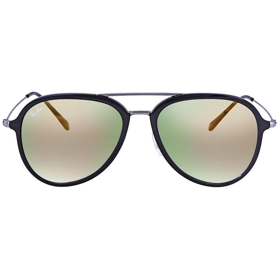 be293a00db3 Ray Ban Gold Gradient Aviator Sunglasses RB4298 6333Y0 57 - Aviator ...