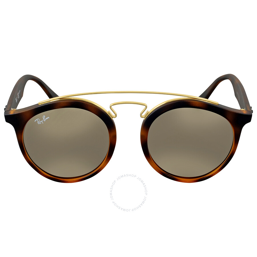Ray Ban Gold Mirror Round Sunglasses Ray Ban Sunglasses Jomashop