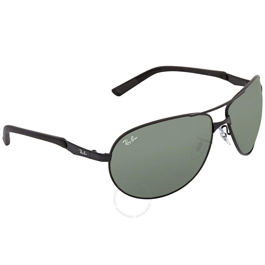 e05b4689e4 Ray Ban Green Aviator Men s Sunglasses RB3393 006 71 64 - Aviator ...