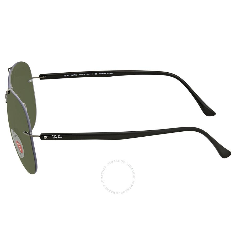 d24992001d4a3 Ray Ban Green Aviator Men s Sunglasses RB8058 004 9A 59 - Aviator ...