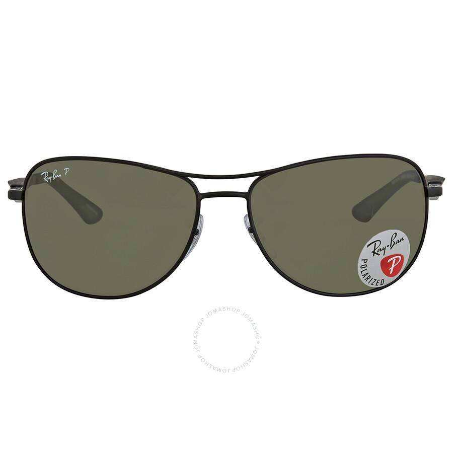 b971711251 ... Ray Ban Green Aviator Polarized Sunglasses RB3519 006 9A 59 ...