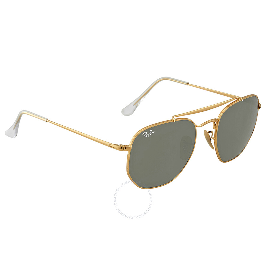 8e8977defb751 Ray Ban Green Classic G-15 54mm Sunglasses RB3648 001 54 - Round ...