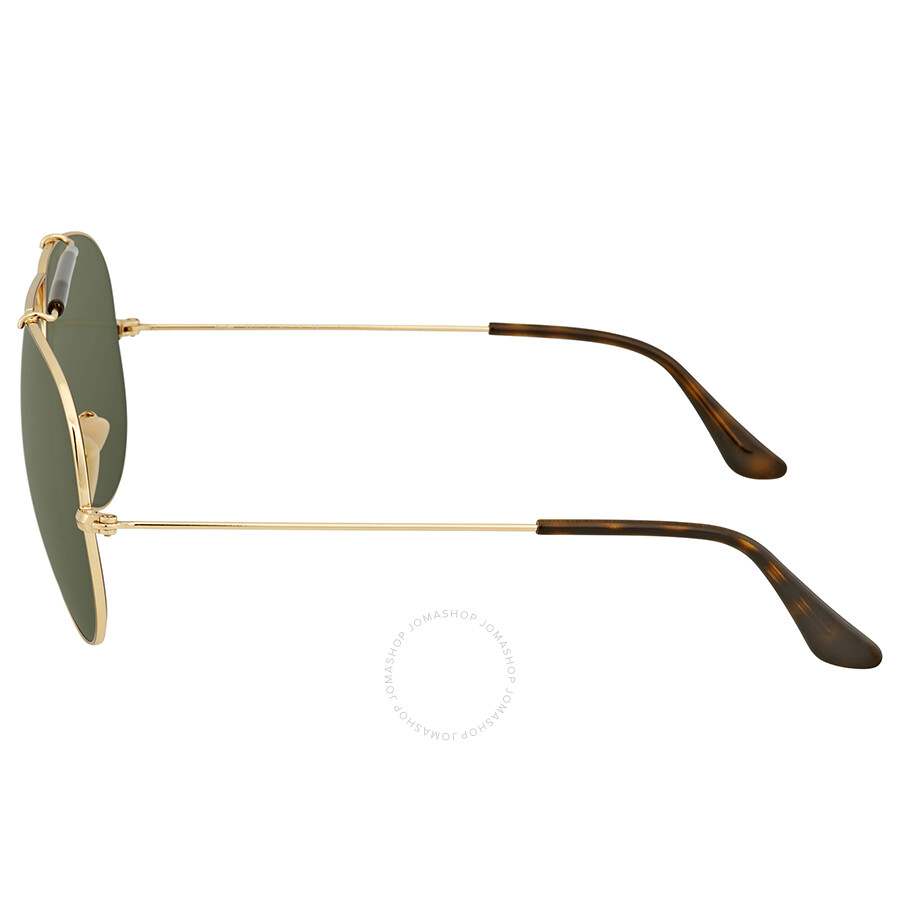 f208a1b93df Ray Ban Green Classic G-15 Aviator Men s Sunglasses RB3138 181 62 ...